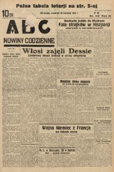 ABC : nowiny codzienne. 1936, nr110 |PDF|