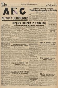 ABC : nowiny codzienne. 1936, nr129 |PDF|