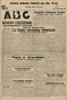 ABC : nowiny codzienne. 1936, nr135 |PDF|