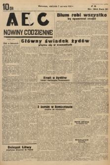 ABC : nowiny codzienne. 1936, nr164 |PDF|