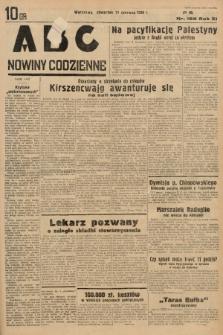 ABC : nowiny codzienne. 1936, nr168  PDF 