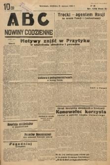 ABC : nowiny codzienne. 1936, nr178 |PDF|