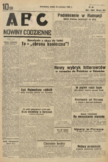 ABC : nowiny codzienne. 1936, nr181  PDF 