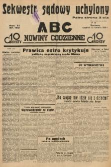 ABC : nowiny codzienne. 1936, nr182 |PDF|