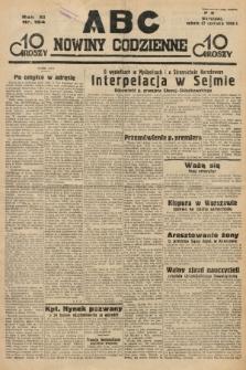 ABC : nowiny codzienne. 1936, nr184 |PDF|
