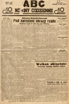 ABC : nowiny codzienne. 1936, nr199 |PDF|