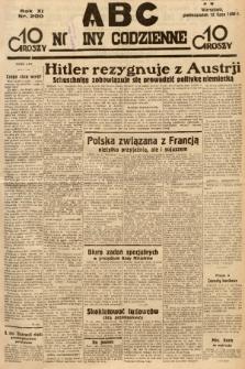 ABC : nowiny codzienne. 1936, nr200 |PDF|