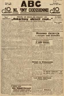 ABC : nowiny codzienne. 1936, nr201 |PDF|
