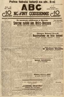 ABC : nowiny codzienne. 1936, nr205 |PDF|
