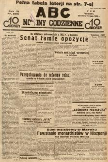 ABC : nowiny codzienne. 1936, nr206 |PDF|