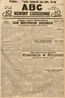 ABC : nowiny codzienne. 1936, nr208 |PDF|