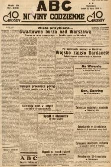 ABC : nowiny codzienne. 1936, nr209 |PDF|