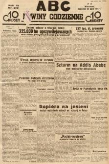 ABC : nowiny codzienne. 1936, nr210 |PDF|