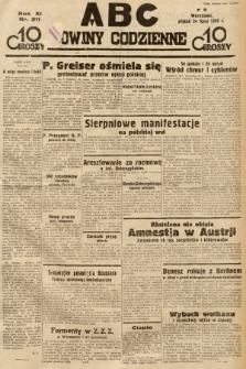 ABC : nowiny codzienne. 1936, nr211 |PDF|