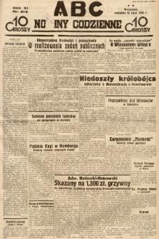 ABC : nowiny codzienne. 1936, nr213 |PDF|