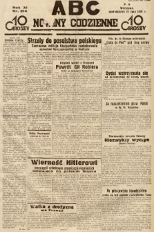 ABC : nowiny codzienne. 1936, nr214 |PDF|