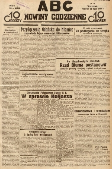 ABC : nowiny codzienne. 1936, nr215 |PDF|