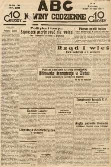 ABC : nowiny codzienne. 1936, nr218 |PDF|