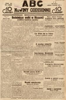ABC : nowiny codzienne. 1936, nr222 |PDF|
