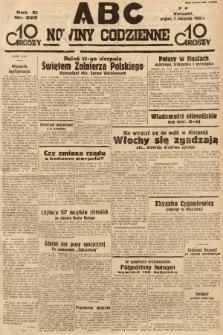 ABC : nowiny codzienne. 1936, nr225 |PDF|