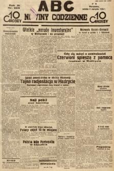 ABC : nowiny codzienne. 1936, nr226 |PDF|