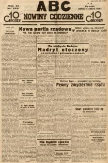 ABC : nowiny codzienne. 1936, nr229 |PDF|