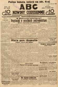ABC : nowiny codzienne. 1936, nr233 |PDF|