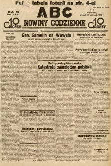 ABC : nowiny codzienne. 1936, nr235  PDF 