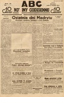 ABC : nowiny codzienne. 1936, nr237 [ocenzurowany] |PDF|