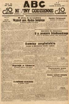 ABC : nowiny codzienne. 1936, nr238 |PDF|