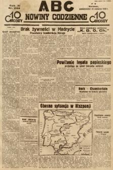 ABC : nowiny codzienne. 1936, nr242 |PDF|