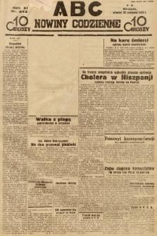 ABC : nowiny codzienne. 1936, nr243 [ocenzurowany] |PDF|