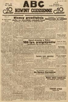 ABC : nowiny codzienne. 1936, nr245  PDF 
