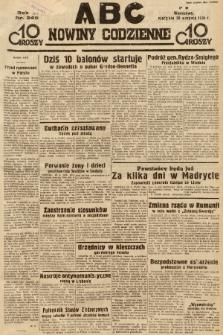 ABC : nowiny codzienne. 1936, nr249 |PDF|
