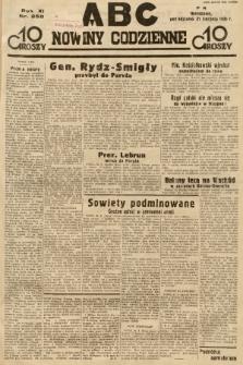 ABC : nowiny codzienne. 1936, nr250 |PDF|