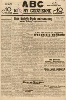 ABC : nowiny codzienne. 1936, nr254 |PDF|