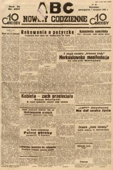 ABC : nowiny codzienne. 1936, nr257  PDF 