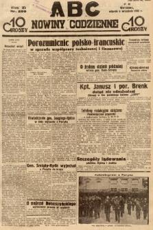 ABC : nowiny codzienne. 1936, nr258  PDF 