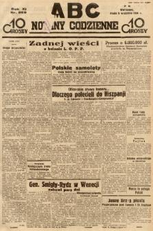 ABC : nowiny codzienne. 1936, nr259 |PDF|