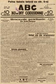 ABC : nowiny codzienne. 1936, nr261  PDF 