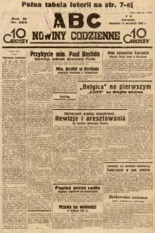 ABC : nowiny codzienne. 1936, nr263 |PDF|