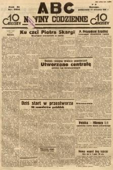 ABC : nowiny codzienne. 1936, nr264 |PDF|