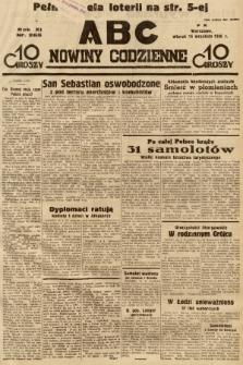 ABC : nowiny codzienne. 1936, nr265 |PDF|