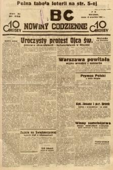 ABC : nowiny codzienne. 1936, nr266 |PDF|