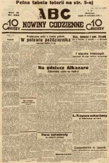 ABC : nowiny codzienne. 1936, nr268  PDF 
