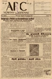 ABC : nowiny codzienne. 1936, nr270 |PDF|