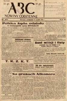 ABC : nowiny codzienne. 1936, nr271 |PDF|