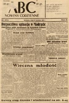 ABC : nowiny codzienne. 1936, nr273 |PDF|