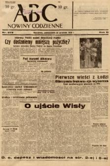 ABC : nowiny codzienne. 1936, nr279 |PDF|