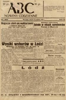 ABC : nowiny codzienne. 1936, nr280 |PDF|